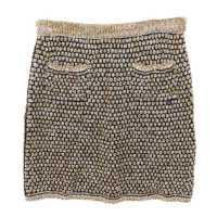 リファスタ高額買取:ニット 台形スカート ツィード/P40762K03000/MP307
