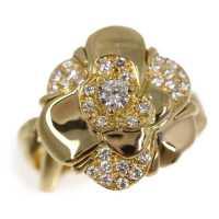 リファスタ高額買取:カメリア 32P・パヴェ・ダイヤモンド(ファッション)リング・指輪/K18YG/750-9.8g/11号/#51