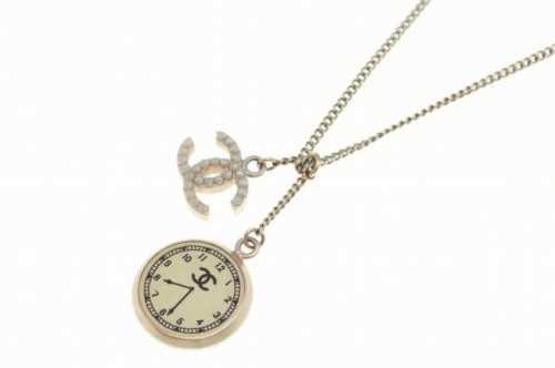 5cb1d43cb618 シャネル/CHANEL ココマーク&時計モチーフネックレス・無垢ネックレス ...