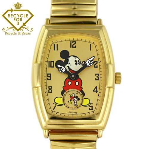 b578a7d1a000 Disney (ディズニー)コラボ ミッキーマウス文字盤 クォーツ 腕時計・クォーツ時計/VD78
