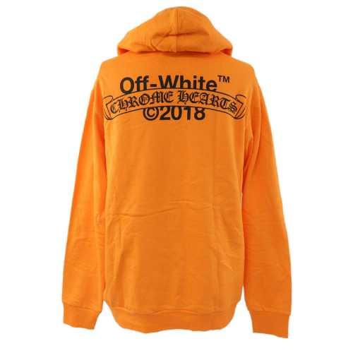 Off-White(オフホワイト)・バックロゴプリントプルオーバーパーカートップス/2212-304-4000