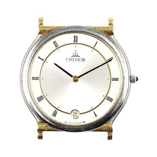 クォーツ時計/K18/750×SSコンビ-15.9g/7779-6000