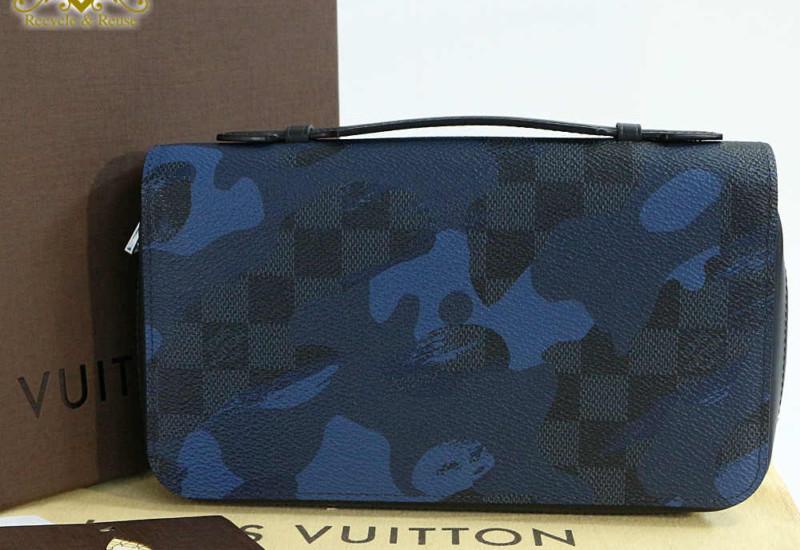 ルイヴィトン/LOUIS VUITTONダミエ・コバルト カモフラージュ・ジッピーXL・N63287