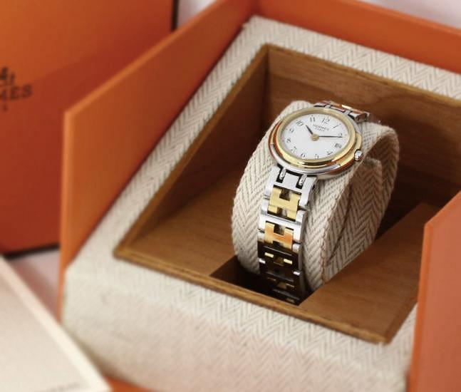エルメス クリッパー・クォーツ腕時計